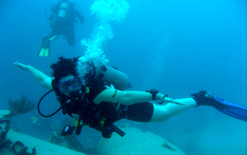 Joanne Cornish Consultant diving